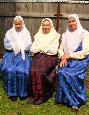 Traditional Russian People