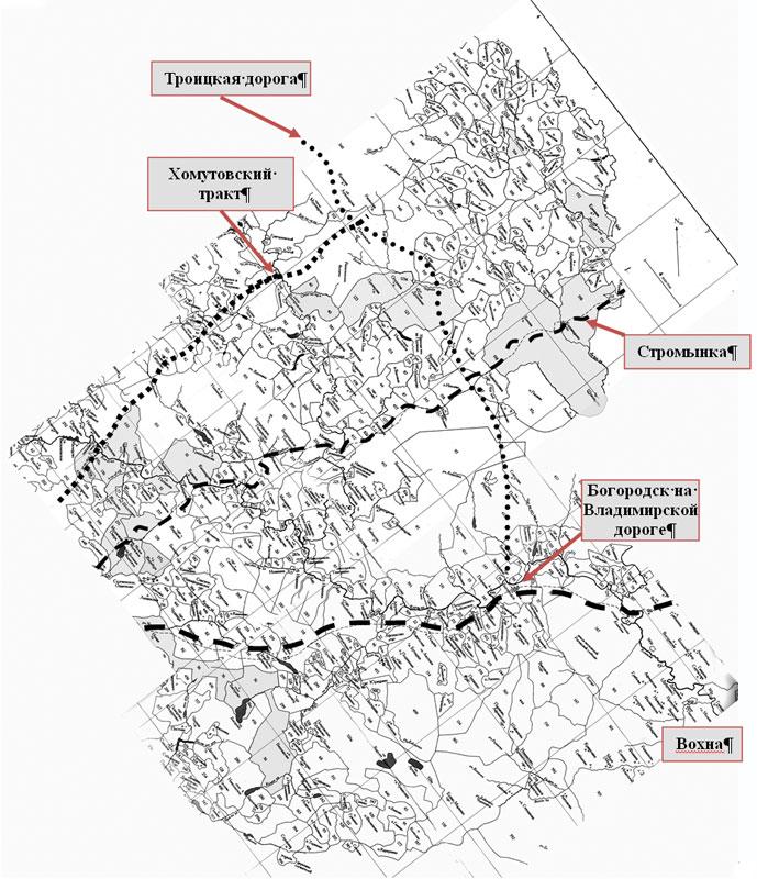 Схема составлена по картам